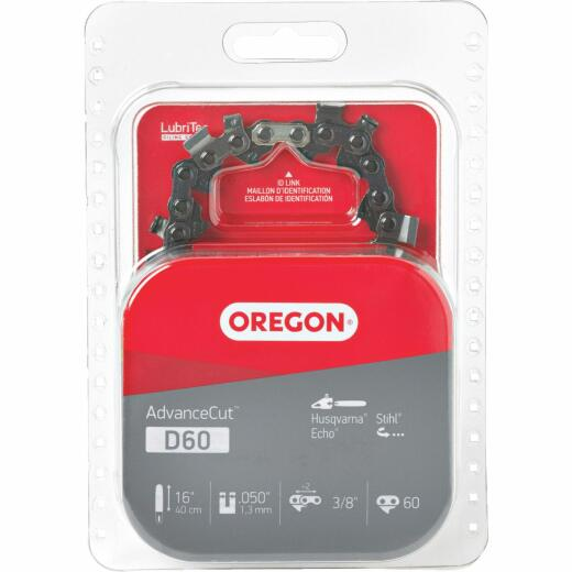 Oregon D60 16 In. Chainsaw Chain